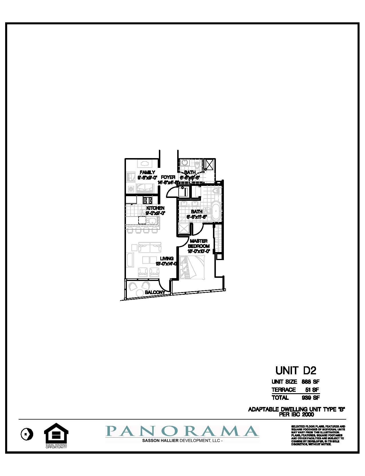 Panorama Floor Plans 1 Bedroom 2 Bath Den Panorama